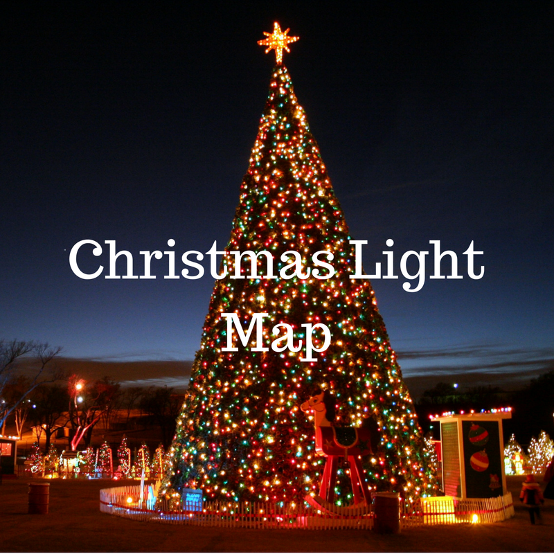 Christmas Light Map 2020 Christmas Light Map   Lubbock in the Loop